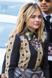 Chloe Grace Moretz Fashion - Out in New York City 4/14/2016