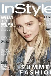 Chloe Grace Moretz  UK InStyle Magazine Photoshoot June 2016