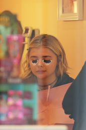 Chloe Moretz at Benefit Cosmetics in Los Angeles, CA 4/7/2016
