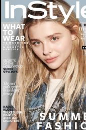 Chloe Moretz - Instyle Magazine UK June 2016 Cover