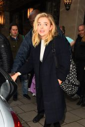 Chloe Moretz - Leaving Claridges in London, UK 4/25/2016