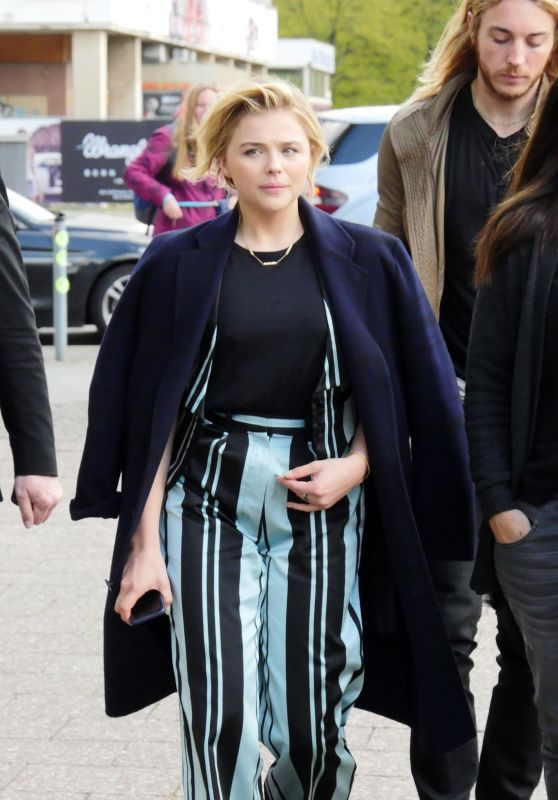 Chloe Moretz Style - Out in Berlin 4/26/2016