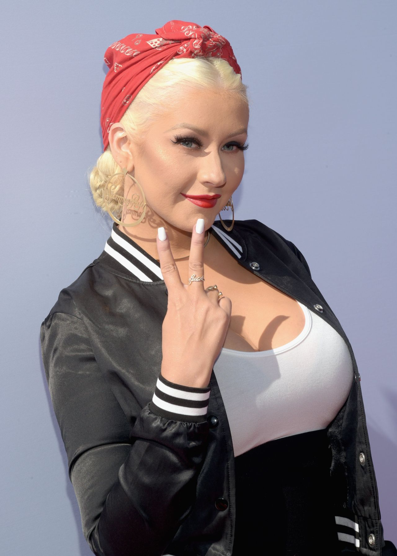 Christina Aguilera - The Voice Karaoke For Charity in West ... Christina