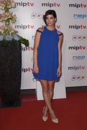 Cindy Sampson - MIPTV Gala at Hotel Martinez in Cannes, France 4/4/2016