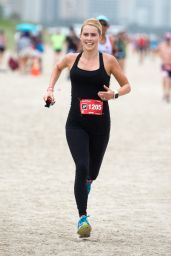 Claire Holt - Life Time Tri Charity Triathlon in Miami 4/3/2016