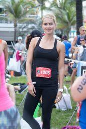 Claire Holt - Life Time Tri Charity Triathlon in Miami 4/3/2016