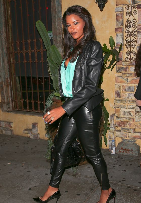 Claudia Jordan at El Compadre in Los Angeles 4/6/2016