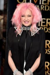Cyndi Lauper - Olivier Awards 2016 at the Royal Opera House in London, UK