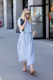 Dakota Fanning Casual Style - Out in New York 4/18/2016