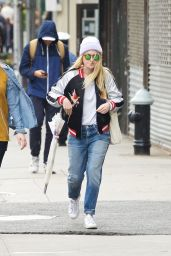 Dakota Fanning Street Style - Out in New York City 4/26/2016