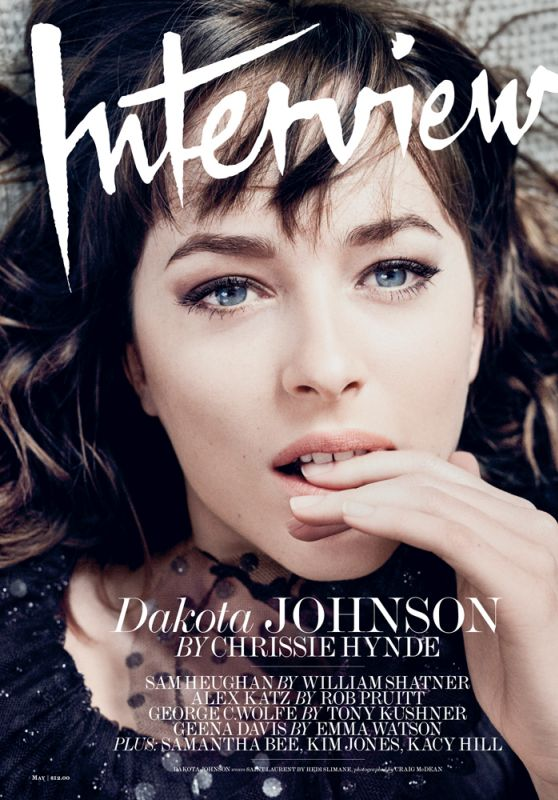 Dakota Johnson - Interview Magazine May 2016