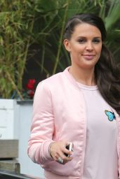 Danielle Lloyd - Outside ITV Studios in London 4/14/2016