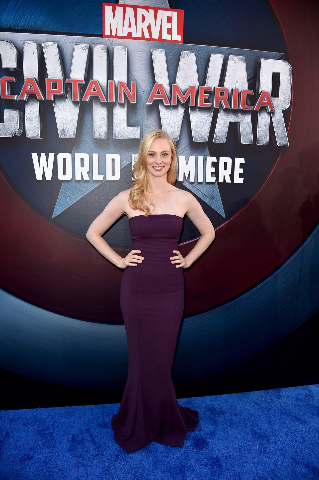 Deborah Ann Woll Marvel S Captain America Civil War