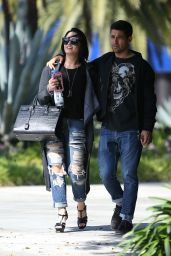 Demi Lovato - Out in West Hollywood 4/14/2016