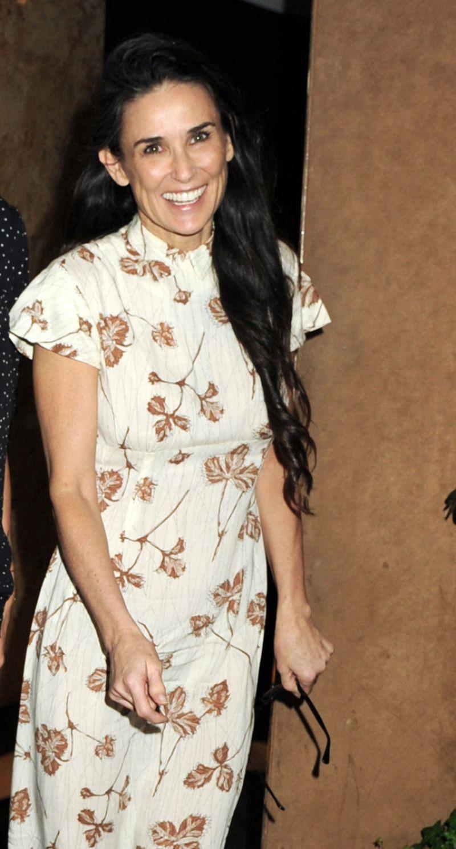 Demi Moore Departing Daughter Rumer Willis' Performance at ...