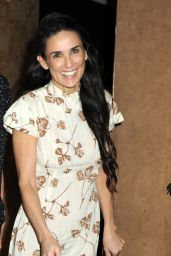 Demi Moore Departing Daughter Rumer Willis
