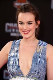 Elizabeth Henstridge – 'Captain America: Civil War' World Premiere at Dolby Theatre in Hollywood