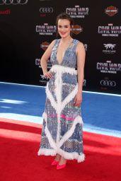 Elizabeth Henstridge – 'Captain America: Civil War' World Premiere at Dolby Theatre in Hollywood