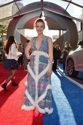 Elizabeth Henstridge – Marvel's 'Captain America: Civil War' Premiere in Los Angeles