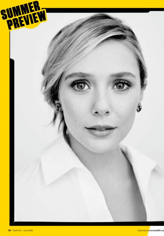 Elizabeth Olsen - Total Film Magazine June 2016 Issue