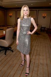 Elle Fanning - Amazon Studios Presentation at CinemaCon in Las Vegas 4/14/2016