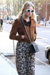 Elsa Hosk - Out in NYC 4/16/2016