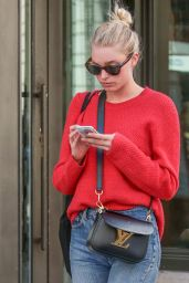Elsa Hosk Street Style - Out in New York City 4/20/2016