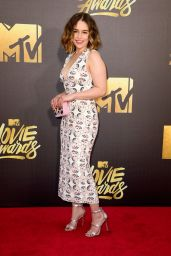 Emilia Clarke – 2016 MTV Movie Awards in Burbank, CA