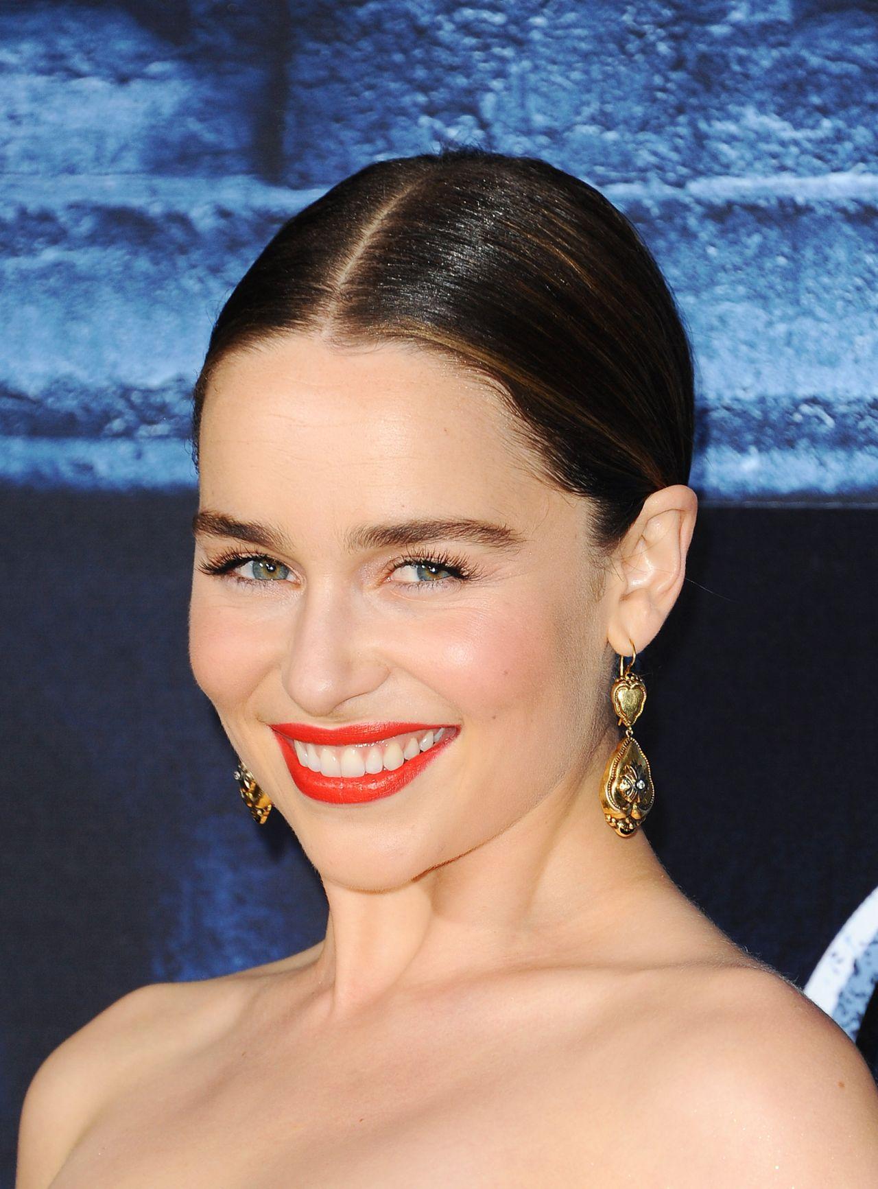 Emilia Clarke – HBO's 'Game of Thrones' Season 6 Premiere in Los Angeles