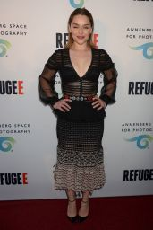 Emilia Clarke - REFUGEE Exhibit at Annenberg Space For Photography in Century City 4/21/2016
