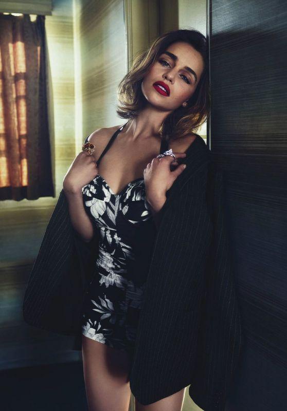 Emilia Clarke - Vogue Magazine Australia May 2016 Cover and Photos