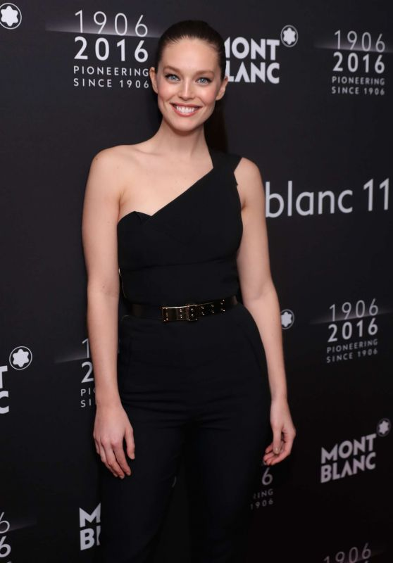 Emily DiDonato - Montblanc 110th Anniversary Gala Dinner, April 2016