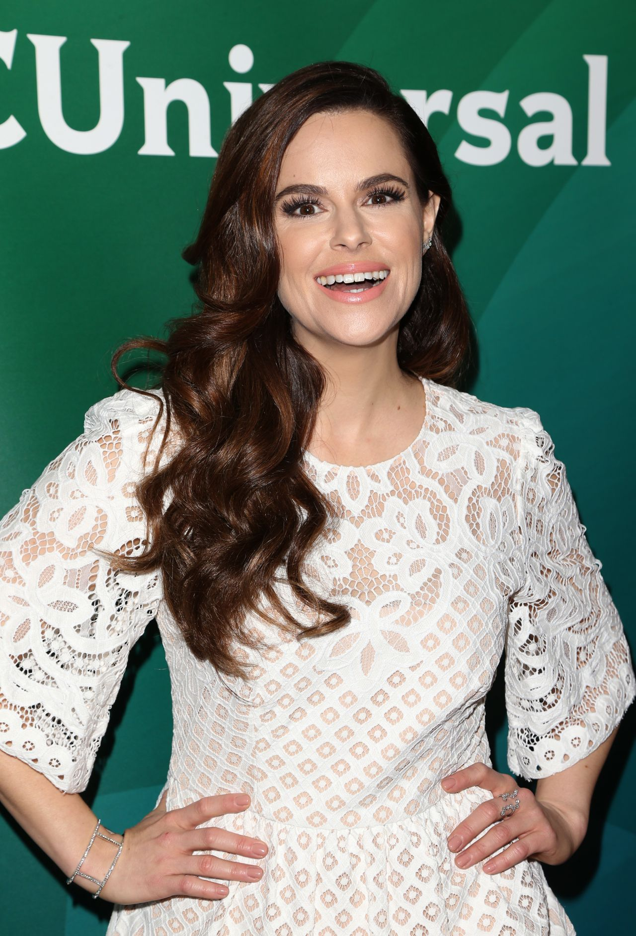 Emily Hampshire Nbcuniversal Summer Press Day In