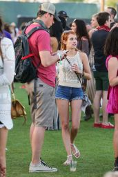 Emma Roberts at Coachella 2016 in Indio 4/15/2016