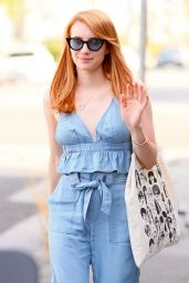 Emma Roberts - Leaving 901 Salon in Los Angeles 4/5/2016