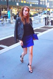 Emma Roberts Night Out Style - Los Angeles 4/20/2016