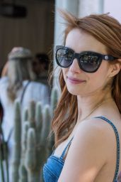 Emma Roberts - Revolve House at Coachella 4/16/2016
