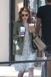 Emma Roberts Street Style - Out in West Hollywood 4/28/2016