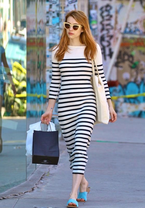 Emma Roberts Style - Out in Los Angeles, April 2016