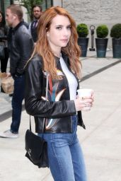 Emma Roberts Urban Outfit - New York City 4/28/2016