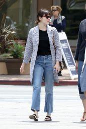 Emma Stone Street Style - Malibu 4/24/2016