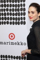 Emmy Rossum - Marimekko For Target Launch Celebration in New York City, April 2016