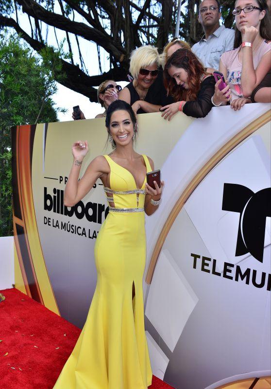 Erika Csiszer – 2016 Billboard Latin Music Awards in Miami