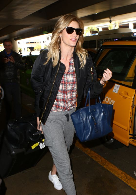 Erin Andrews at LAX Airport 4/1/2016