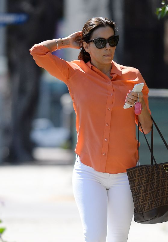 Eva Longoria - Ken Paves Salon in West Hollywood 4/20/2016