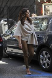 Eva Longoria Shopping in Madrid, Spain 4/2/2016