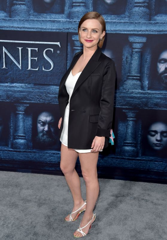 Faye Marsay – 'Game of Thrones' Season 6 Premiere in Los Angeles