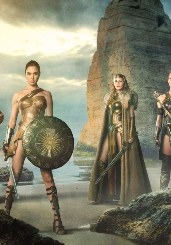 Gal Gadot Wonder Woman 2017 Promo Pics