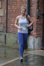Gemma Atkinson in Spandex - Out in Manchester, UK 4/14/2016