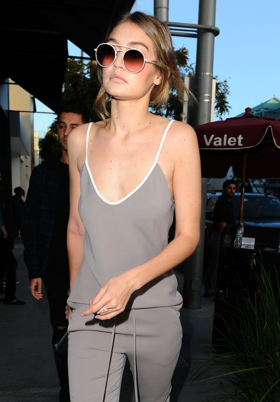 Gigi Hadid Cute Outfit Ideas - Out in Beverly Hills, 4/28/2016